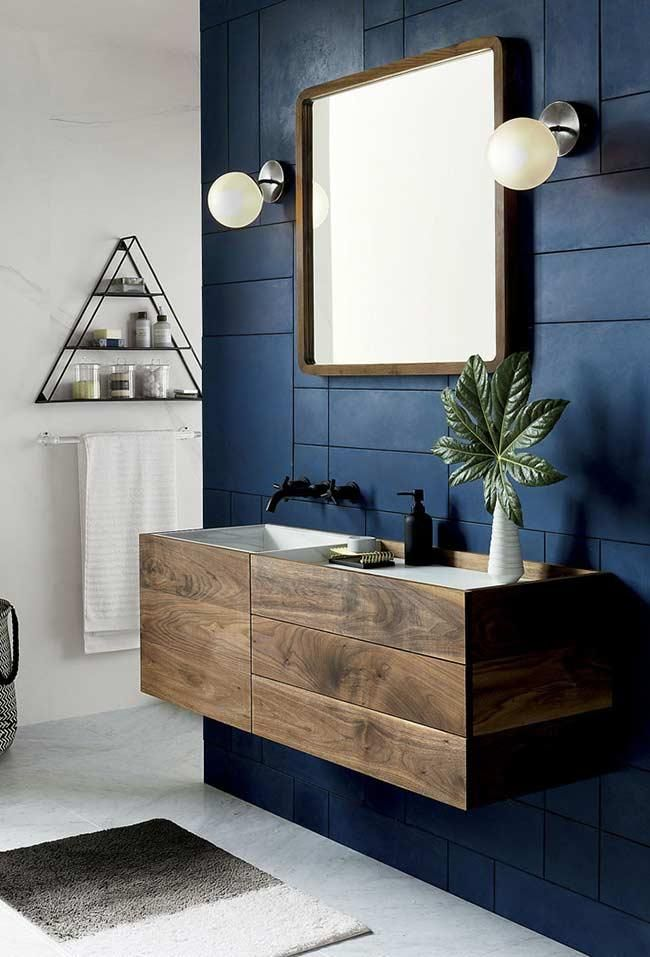 Blaues Badezimmer Ideen Und Tipps Um Die Umgebung Mit Dieser Farbe Zu Dekorieren Blaues Badezimmer Badezimmer Innenausstattung Modernes Badezimmerdesign