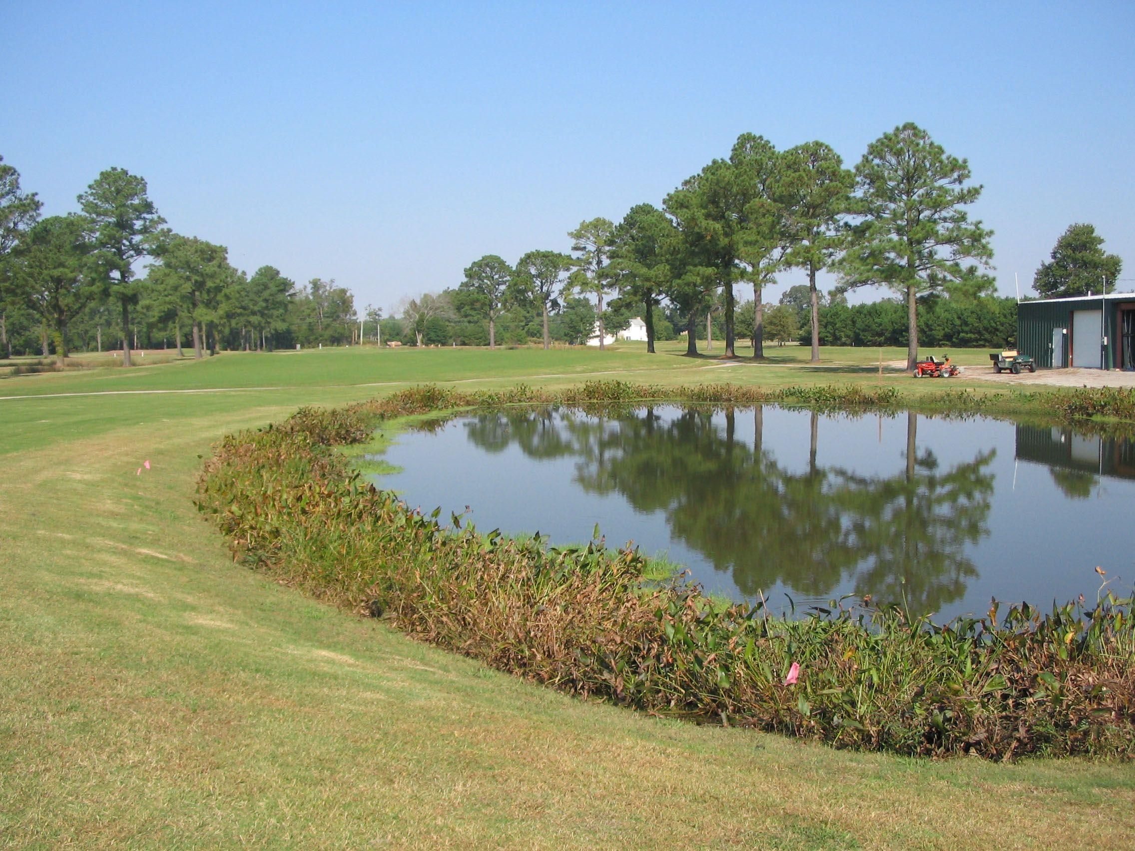 wet pond landscape design