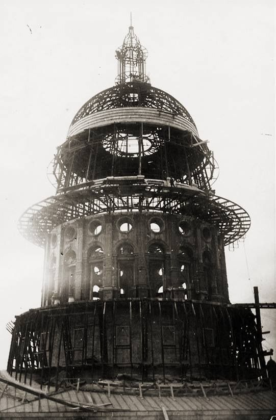 Capitol Chevrolet Austin >> Building the Capitol of Texas Rotunda in Austin, 1886. | This place we call home. #Odessa in ...
