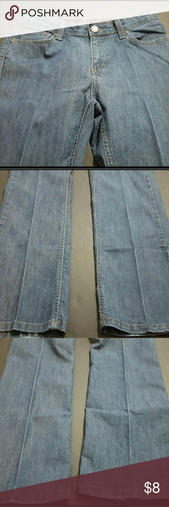 MERONA WOMEN'S SIZE 6 (30x30)COMFORT WAIST JEANS MERONA WOMEN'S SIZE 6 COMFORT WAIST JEANS  These are a great condition pair of denim jeans from Merona. These are a Women's Size 6. These have a comfort stretch waistband and are a bootcut style. With the jeans laying flat, the waist measures 15 inches and the inseam measures 30.5 inches. These are pre-owned and some light signs of use should be expected.? Merona Jeans Boot Cut