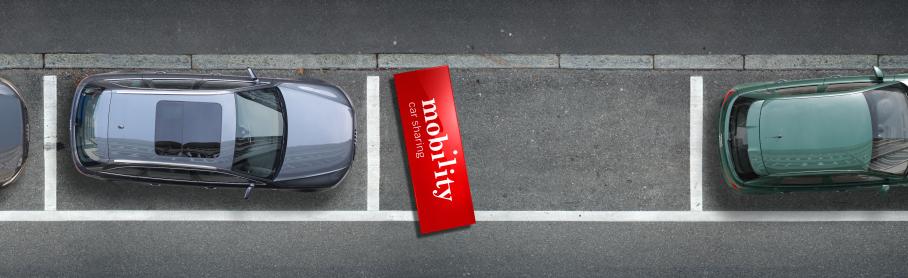 Wer sich für Carsharing statt für ein eigenes Auto entscheidet, schafft Lebensraum. So die Botschaft der Mobility Kampagne.