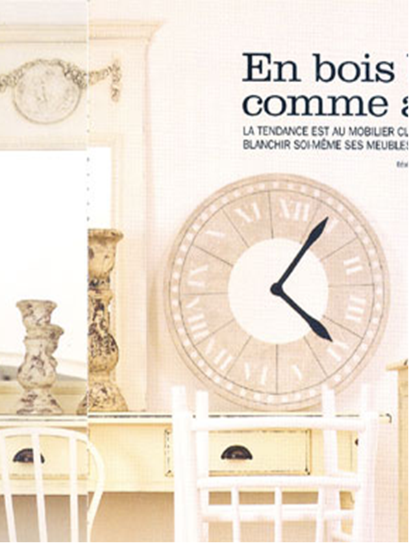 French style. Clock