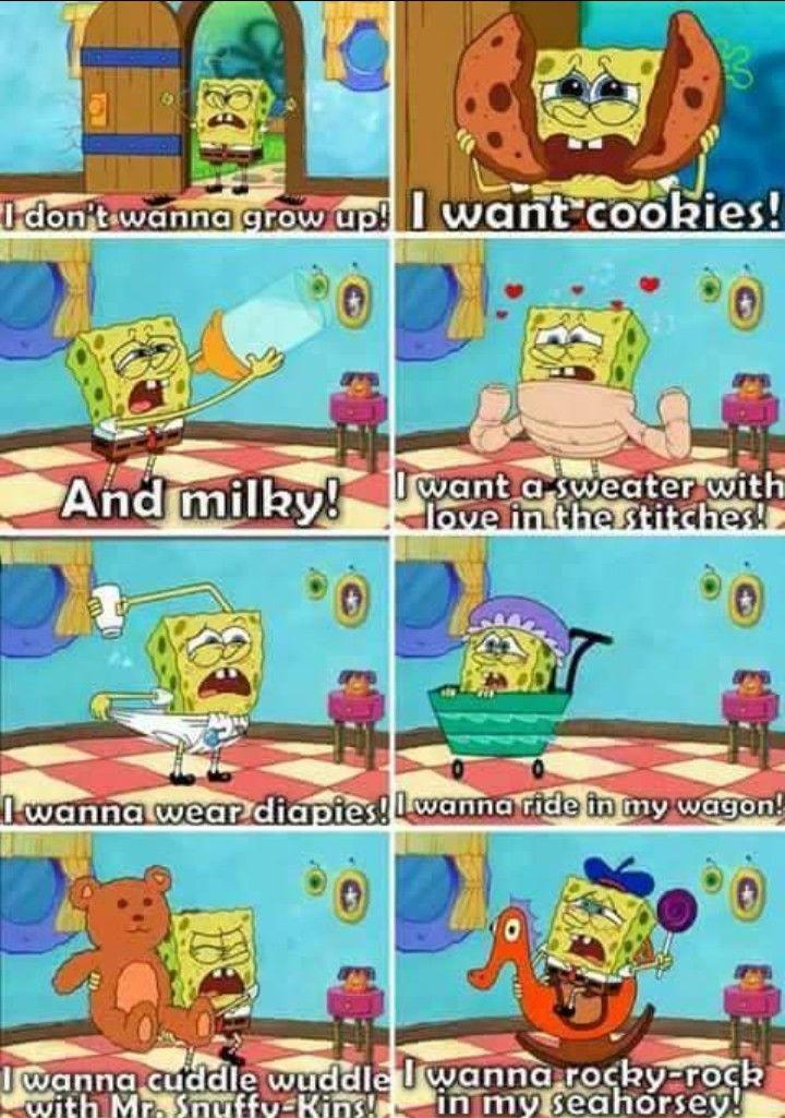 ddlg spongebob meme