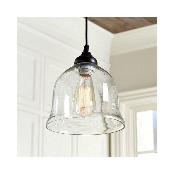 Can Light Adapter Glass Bell Pendant Replacement Shade Ballard Designs Glass Pendant Light Glass Pendant Shades Hanging Light Fixtures Replacement glass shades for pendant lights