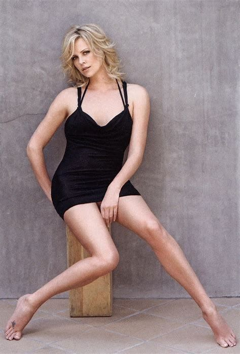 legs Charlize theron