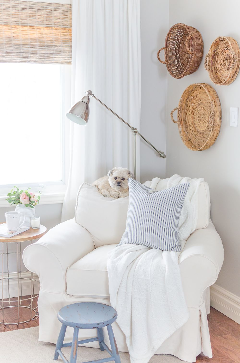 A Touch Of Farmhouse Charm Book Review Nick Alicia Bedroom Corner Room Home