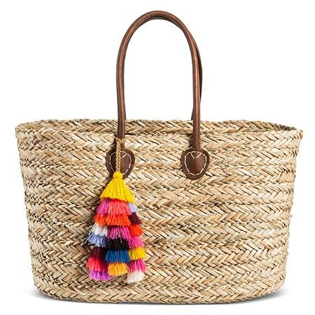Women's Straw Tote Handbag - Merona™ : Target | Current Purchases ...