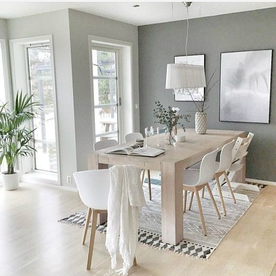 Photo of 10 ways to create a relaxed look dining area