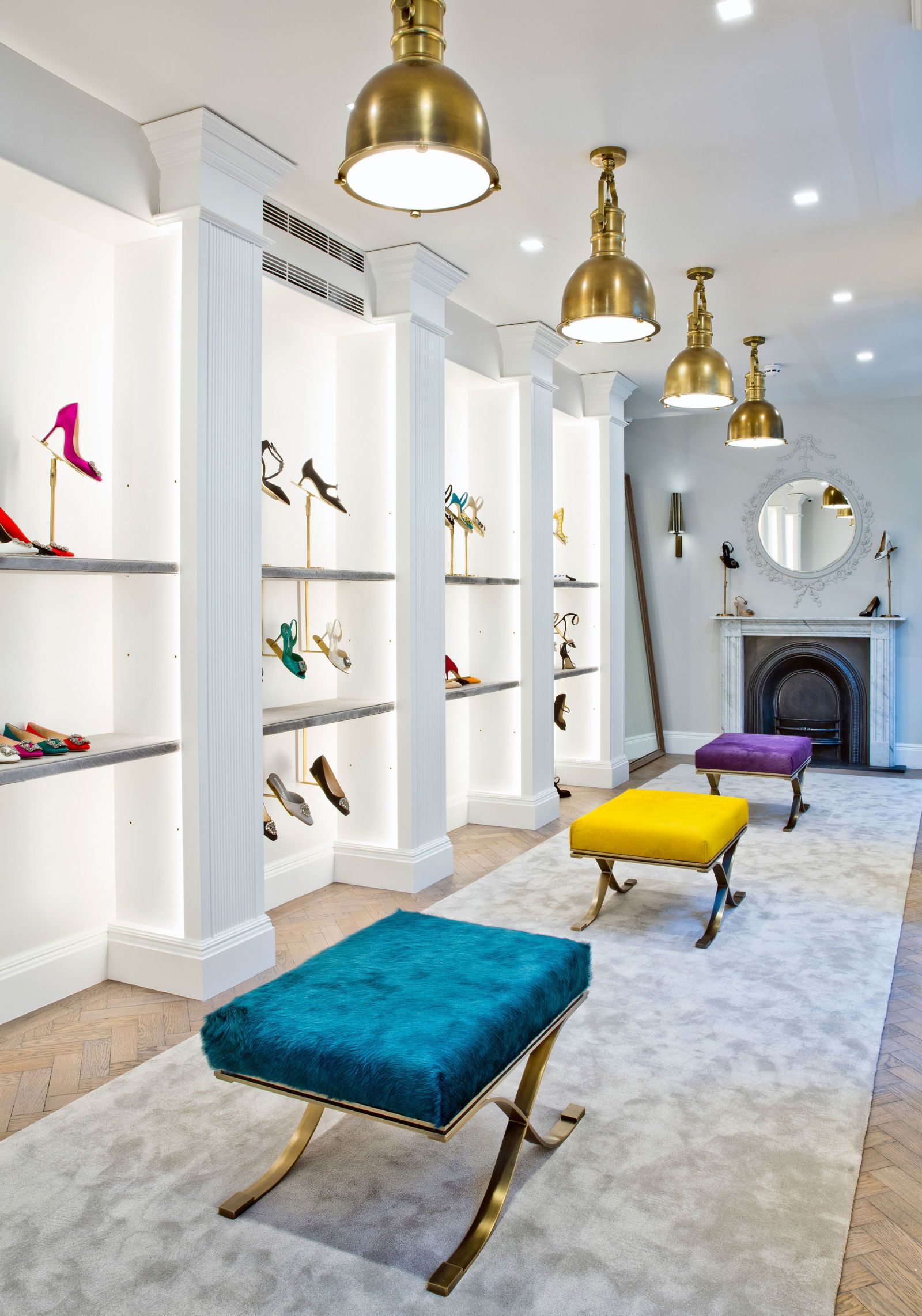 Manolo Blahnik Opens A New Store In Londons Burlington Arcade