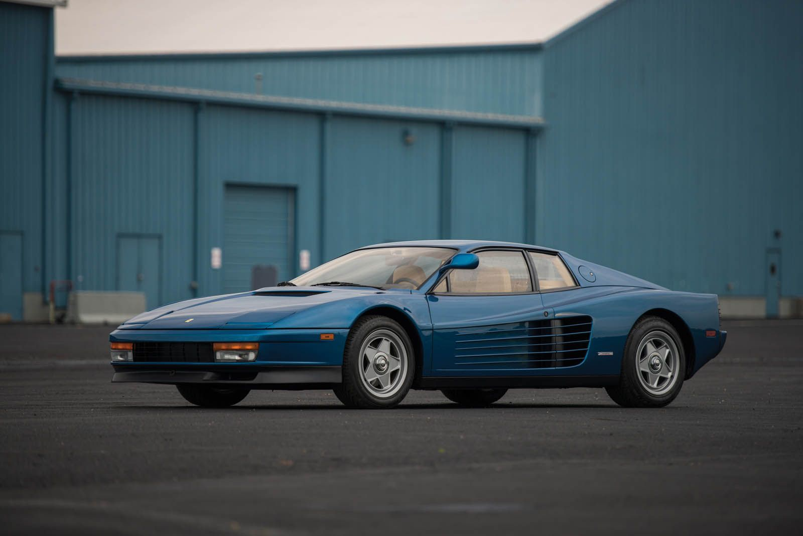 Miami Vice Director S Ferrari Testarossa Looks More Sophisticated