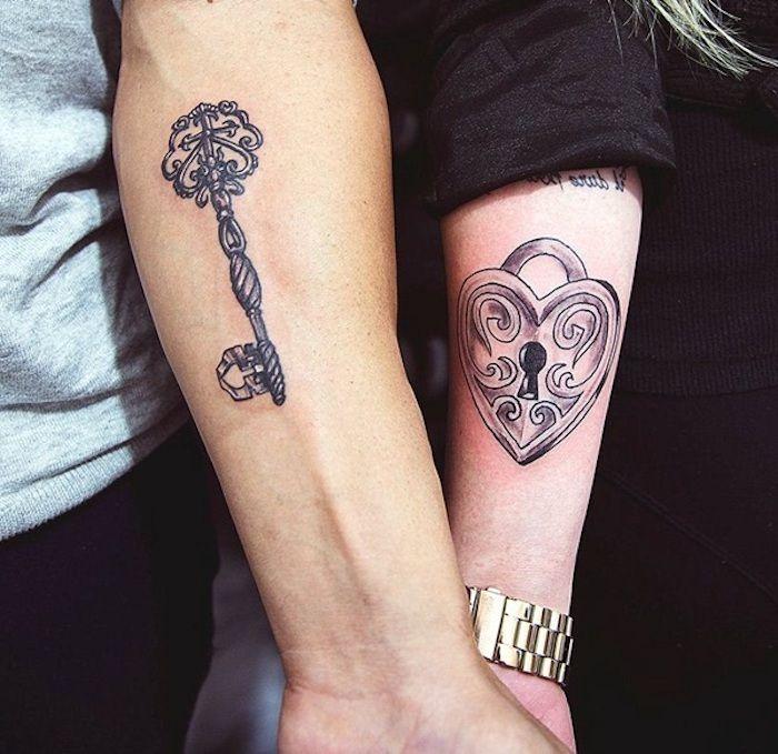partnertattoo wir zeigen ihnen die sch nsten tattoo. Black Bedroom Furniture Sets. Home Design Ideas