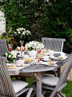 Host a Great Garden Party   T E A T I M E   Pinterest   Jardins ...
