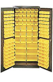 Stackable Bin Storage Cabinets