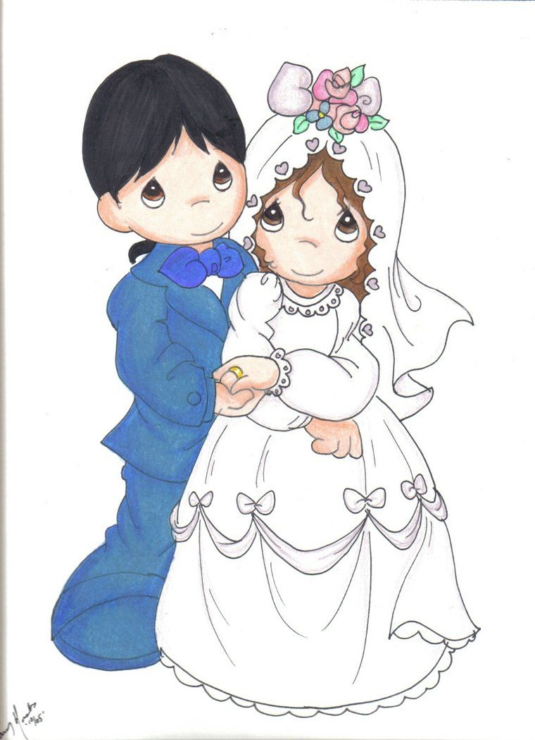 Image detail for -Precious Moments Wedding by ~Jupta on ...