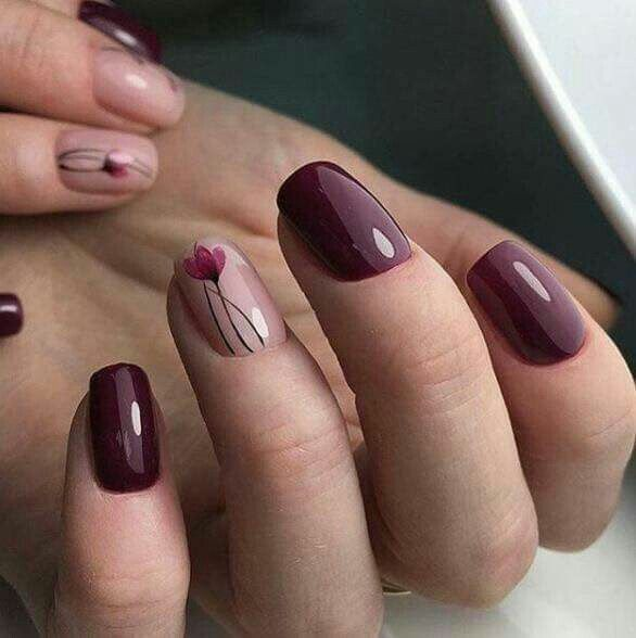 New Day Simple Nail Arts Design Ideas Bold Style Pinterest