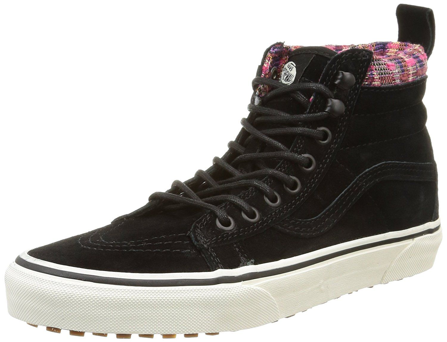 3438f70d35 Vans Womens Black Woven Chevron SK8-Hi MTE Sneakers -- Hurry! Check out  this great product   Mens shoes sneakers
