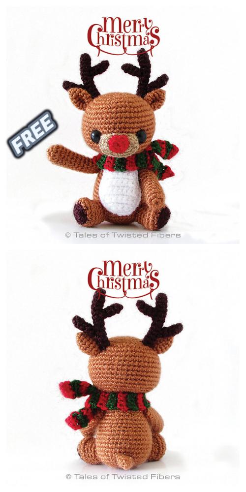 Cómo hacer adorables amigurumis para navidad - Amigurumi navideño ... | 1000x500