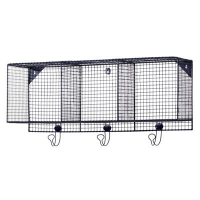 Down to the Wire 3-Cube Wall Shelf (Blue) for homeschool classroom ...