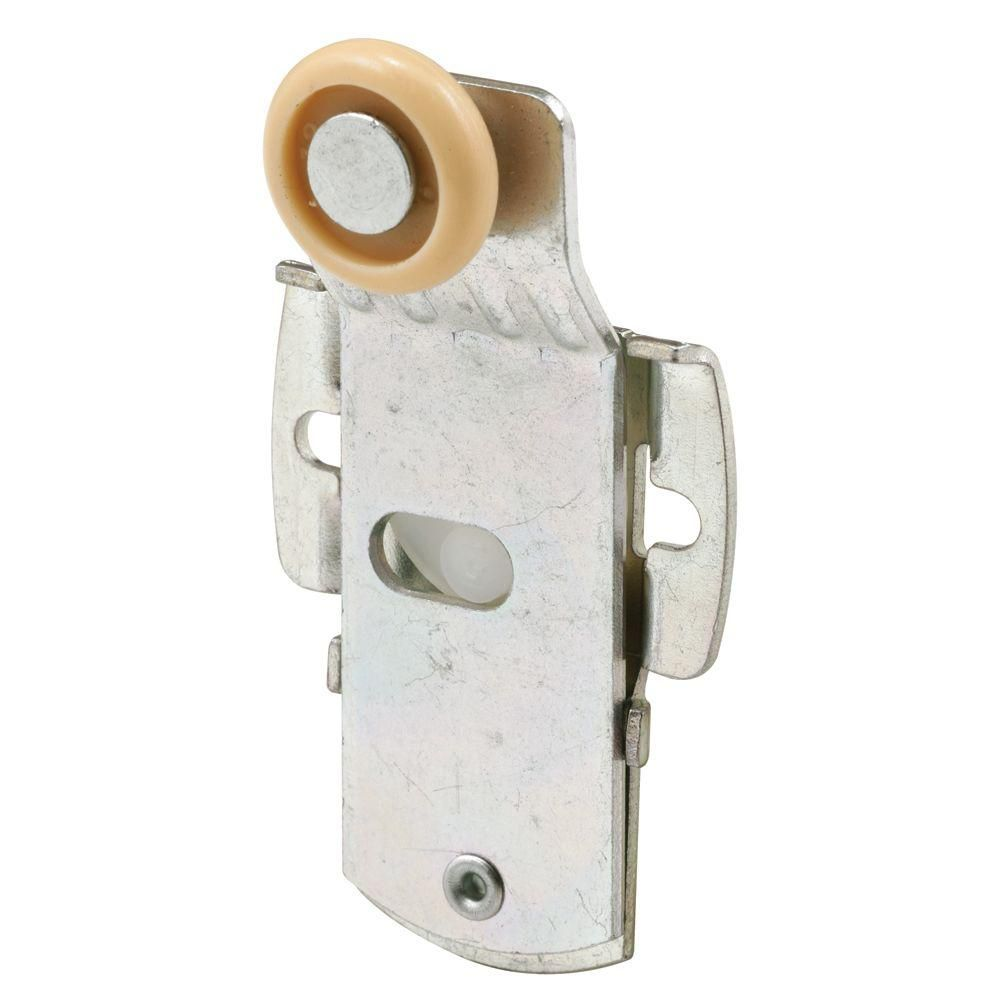 Closet Door Roller Front 14 In Offset 34 In Nylon Wheel 1 5