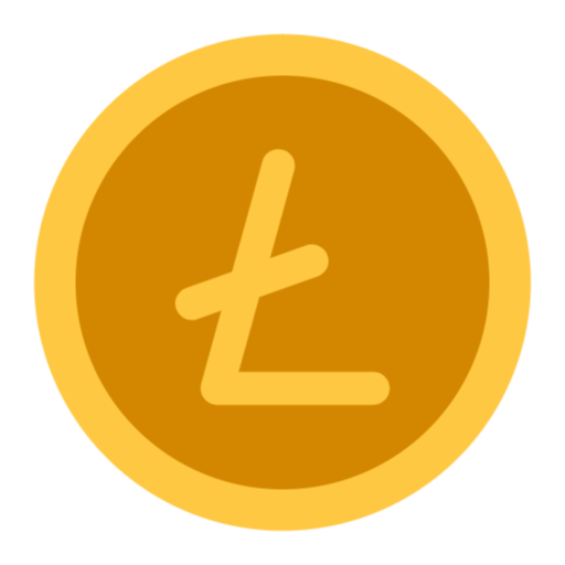 Free Litecoin Png Svg Icon Social Media Icons Free Icon Coin Icon