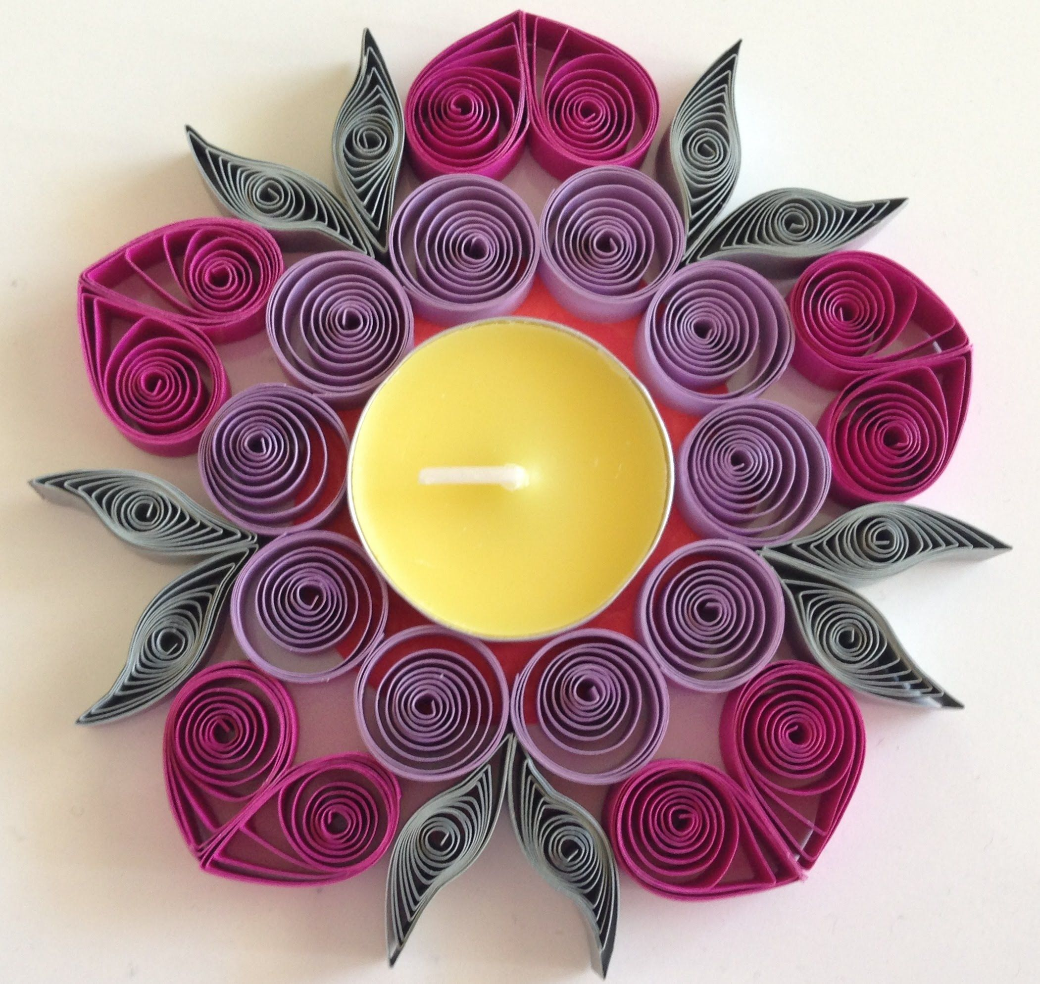 How to make Quilling Candle Holder | Quilling - Candle ... - photo#30