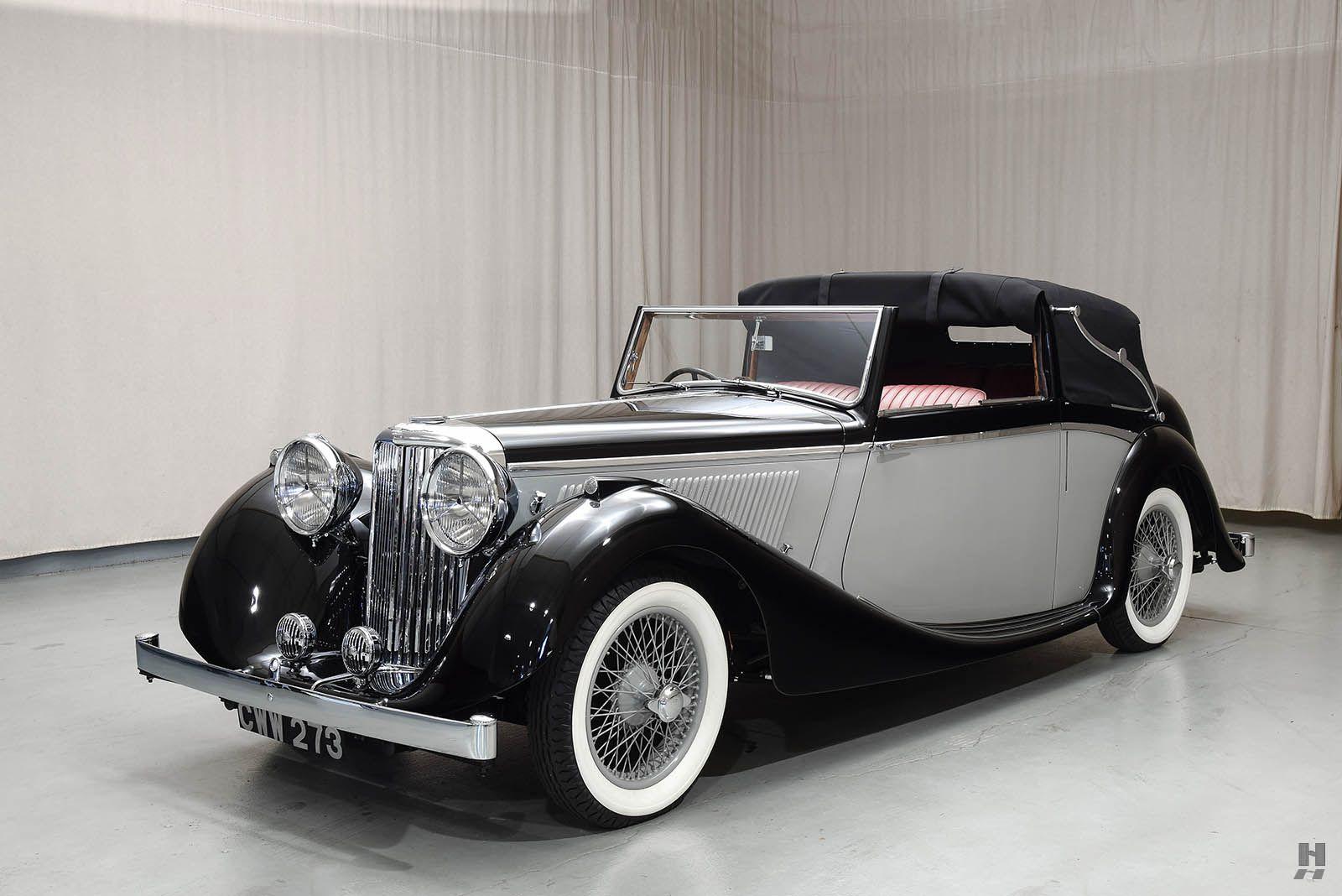 1938 SS Jaguar 2 1/2 Litre Drop Head Coupe - Hyman Ltd. Classic Cars ...