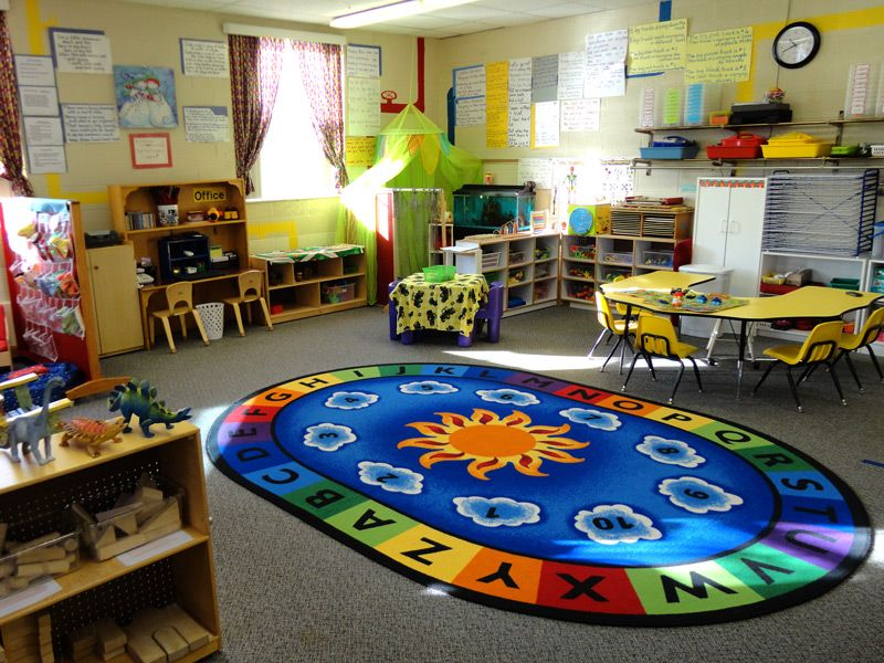Classroom Center Ideas ~ Preschool room signs early classroom at the