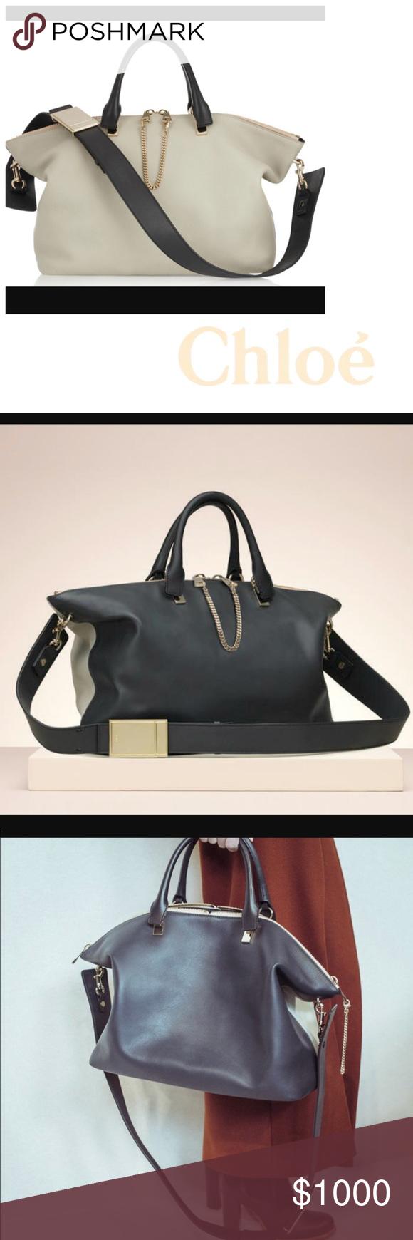 Large Chloe Bailey 2 Way Shoulder Bag Authentic