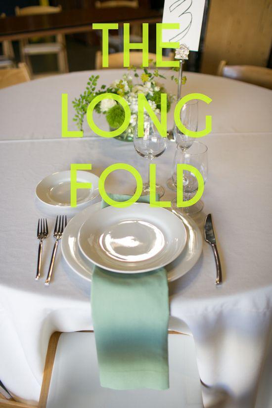Get Sht Done How To Set A Table Diy Wedding NapkinsWedding Napkin FoldingWedding