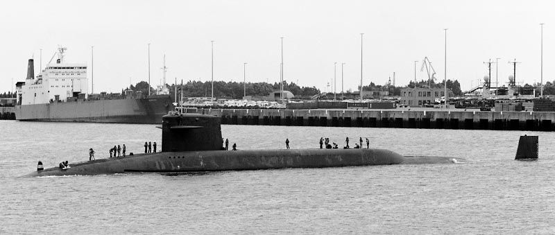 Ssbn 622 James Monroe 1986 Zeebrugge Russian Submarine Uss George Washington Ship Tracker