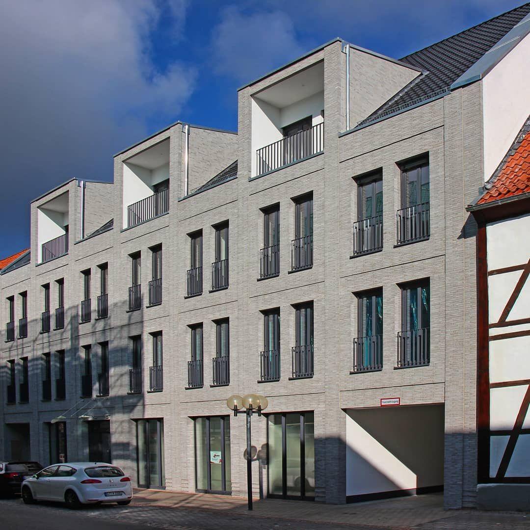 Arztehaus Lippstadt Architektur Passgang Architekten Bda Klinker Moonsund Hs Modf Fotografie Sofiemers Hagemeister Architektur Architekt Backstein