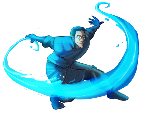 TF2- Water Bender Medic by ~MadJesters1 on deviantART