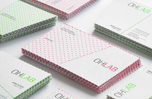 Perforated business cards an innovative way of getting your company perforated business cards colourmoves