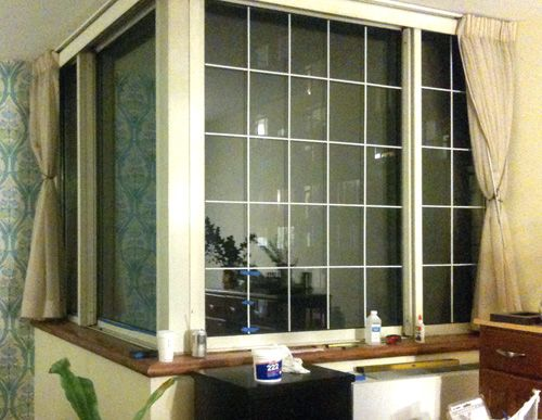 Faux French Windows Great Idea If You Re Stuck In A Highrise With