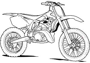 Coloriage Moto De Course Gratuit Coloriage Moto Ninja Dessin