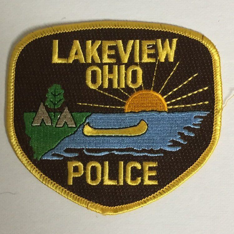 Lot Of 4 Police Officer Uniform Patches Akron Ohio Lakeview Etsy Police Officer Uniform Police Akron Ohio