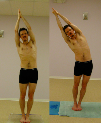 bikram yoga before and after half moon | Hot yoga | Pinterest ...