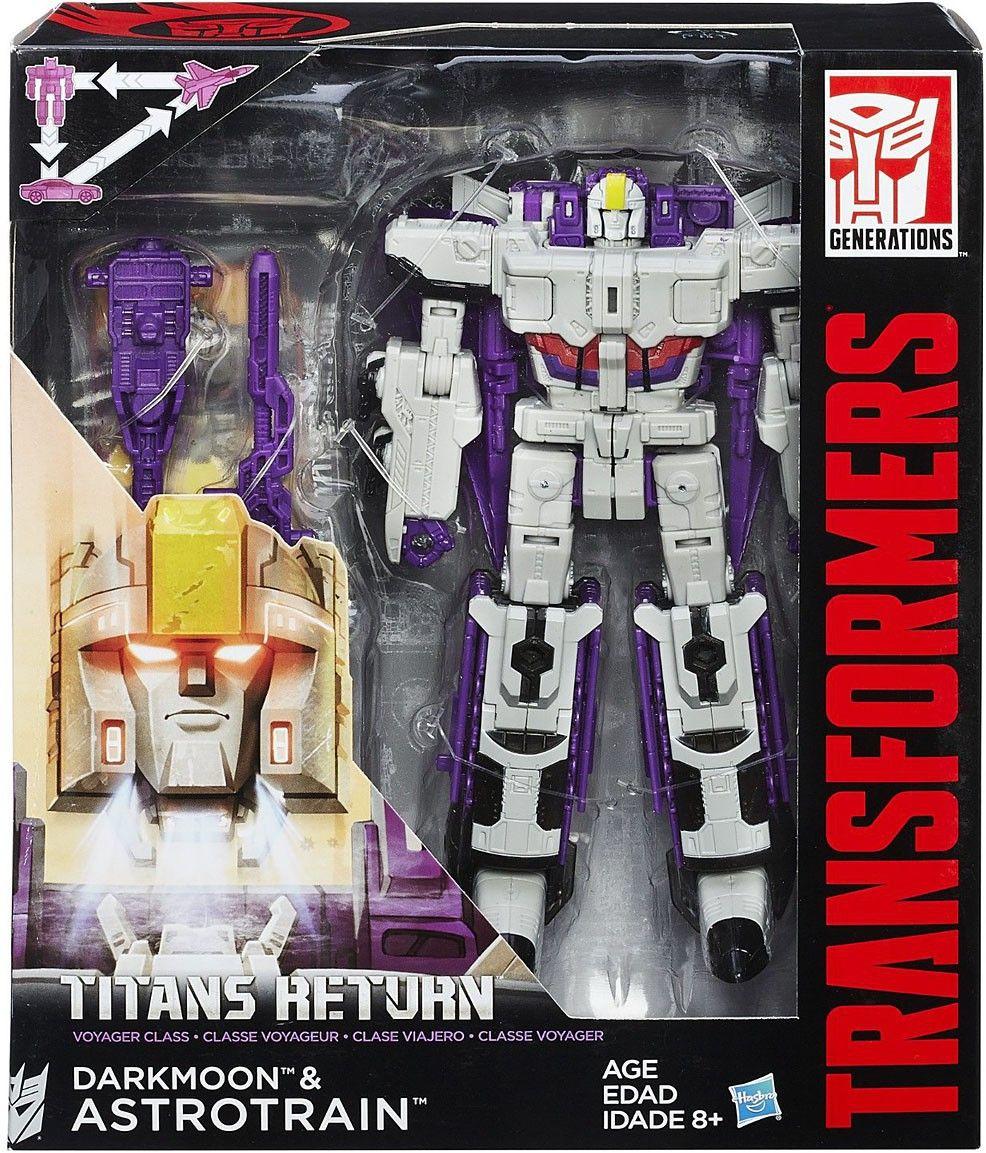 Hasbro Transformers Titans Return Voyager Class Blitzwing MISB.