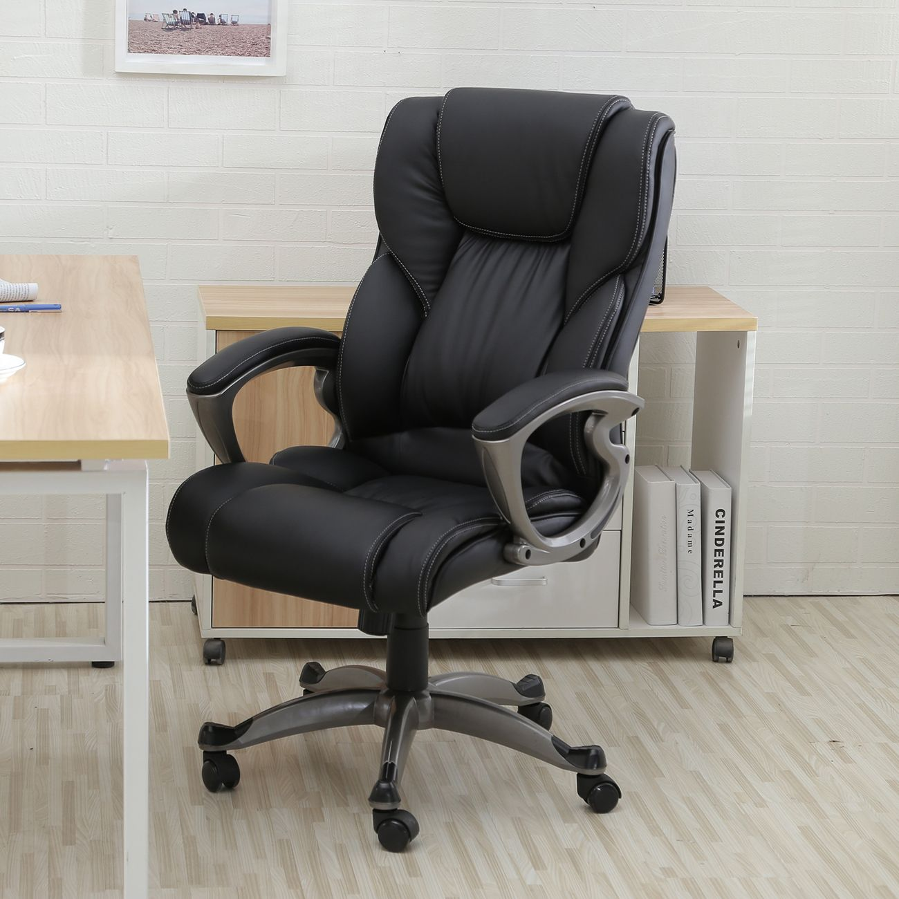 This Picture About: Ways To Tidy Leather Computer Chair, Entitled As Leather  Computer Chair Highu2026