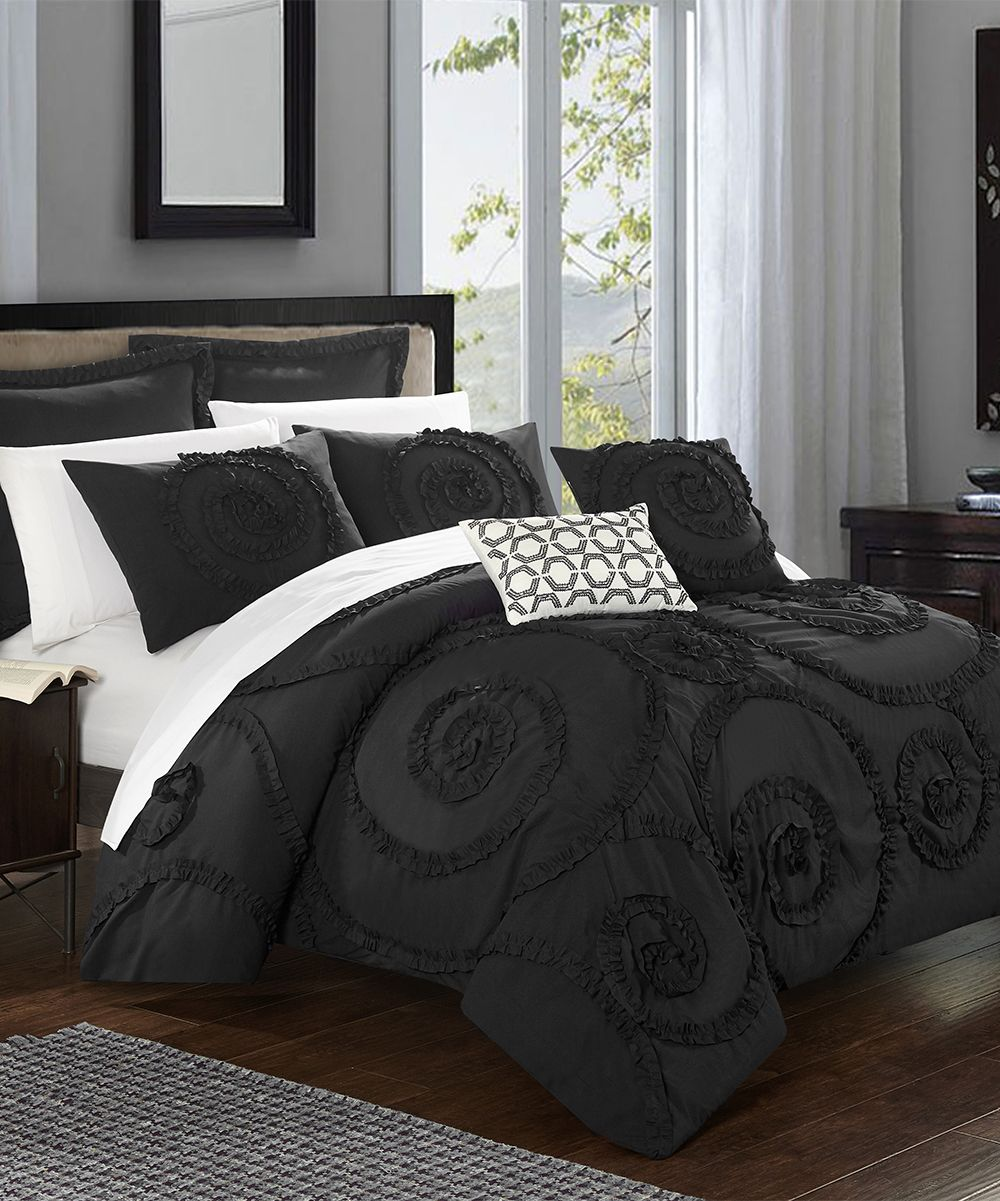 Black Rosemund Comforter Set Products