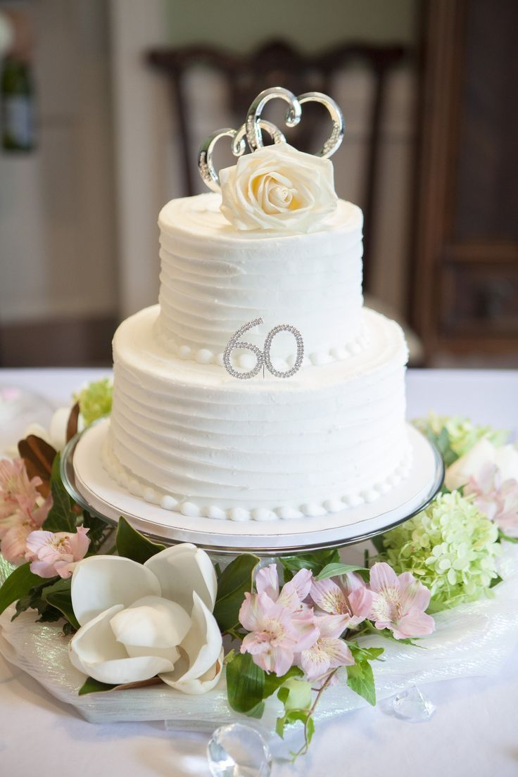 Image result for 60th wedding anniversary cake ideas | 60th ...