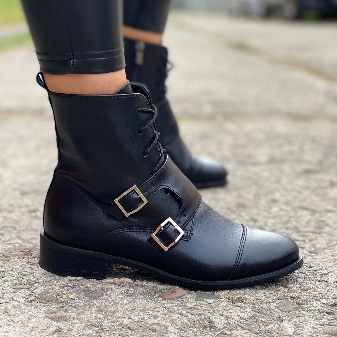 Www Ohbutik Pl Obuwie Moda Jesien Hit Fashion Autumn Polishgirl Buty In 2020 Boots Biker Boot Shoes