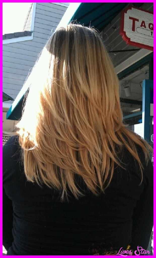 Back View Shoulder Length Layered Haircuts For Thick Hair 9