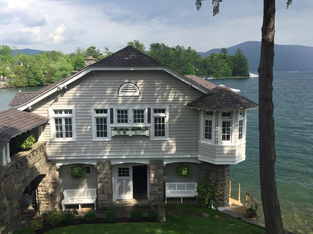 Boathouse Bed And Breakfast A Lake Castle Estate On Lake George