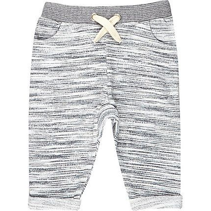 Mini boys grey joggers $20.00