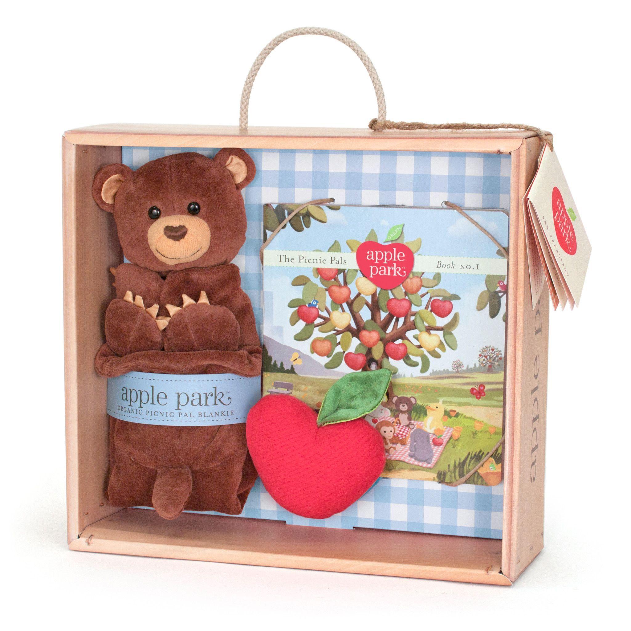 Apple Park Organic Gift Crate \u2013 Cubby | Baby Boy | Pinterest ...