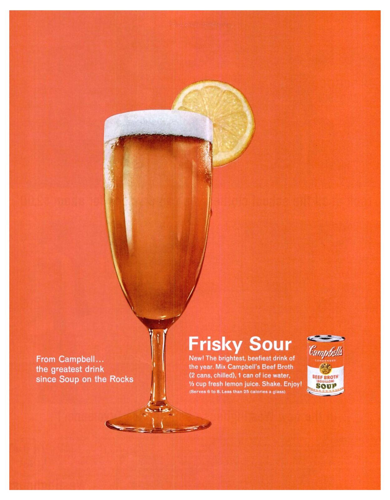Frisky Sour Campbell S Soup 1962 Cocktail Drinks Drinks Fresh Lemon Juice