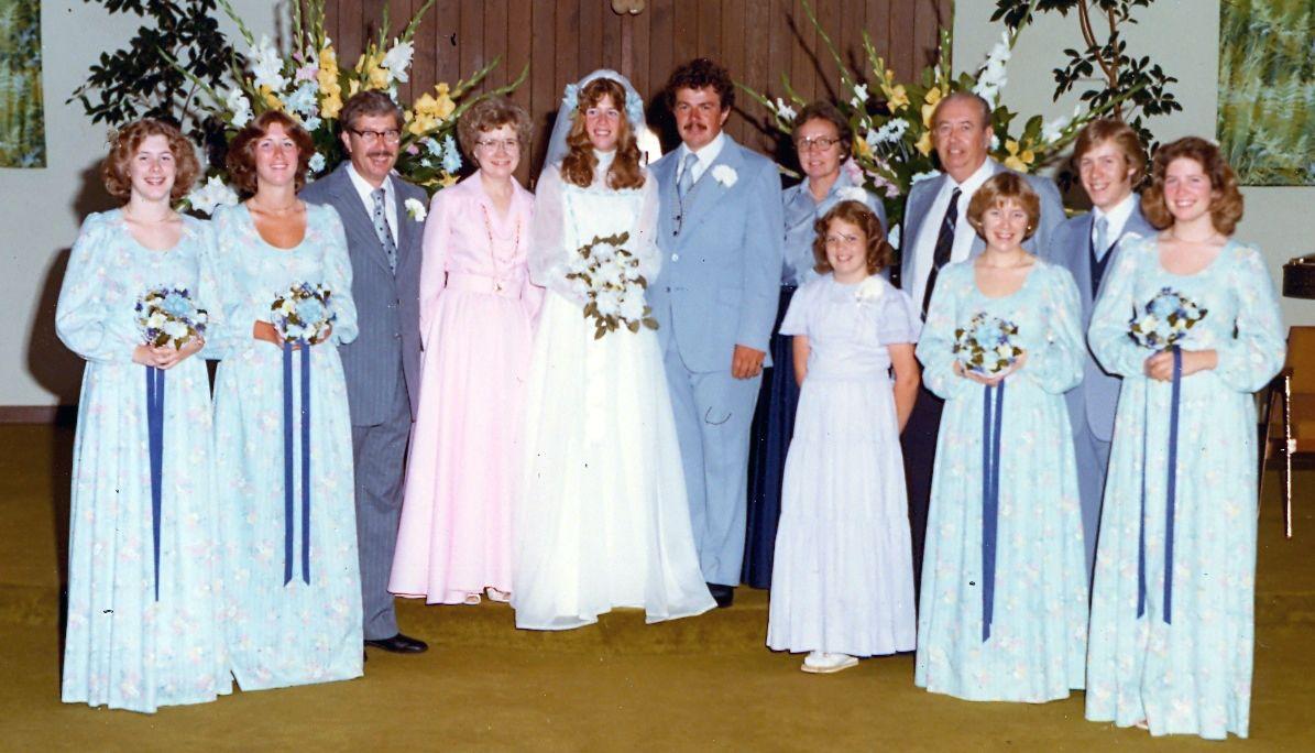 Image result for 1977 wedding | VINTAGE BRIDAL PARTY | Pinterest ...