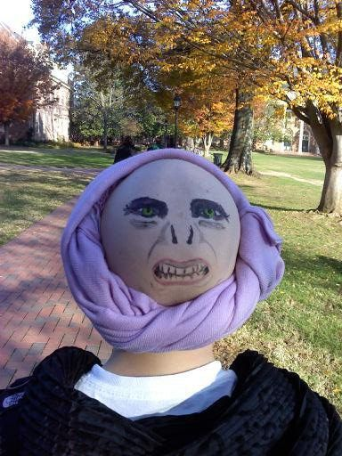 best halloween costume ever!  sc 1 st  Pinterest & Hereu0027s a pic of me from senior year when I had cancer. Naturally I ...