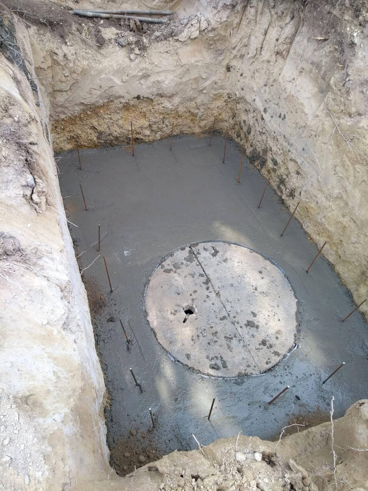 Brunnen Graben Mit Schachtringen Fur Neueste 42 Sortiment Brunnen